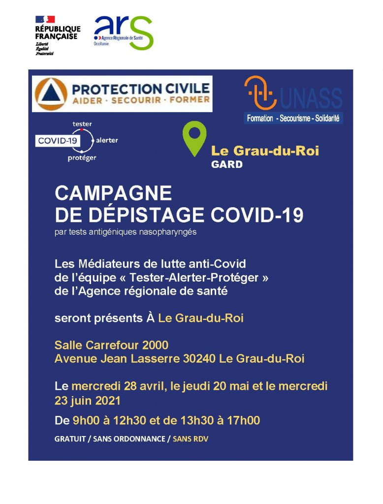 CAMPAGNE DEPISTAGE COVID